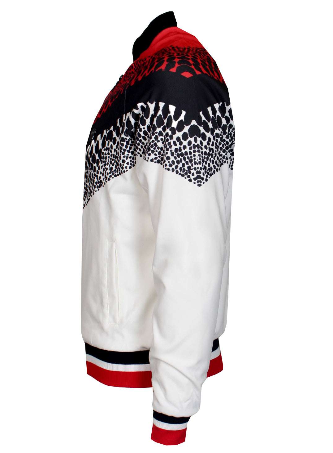 KASH Track Jacket | White