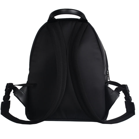 Boys Backpack with Logo-Black