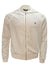 Men's Long Sleeve Diamond Jacket-White/Clear