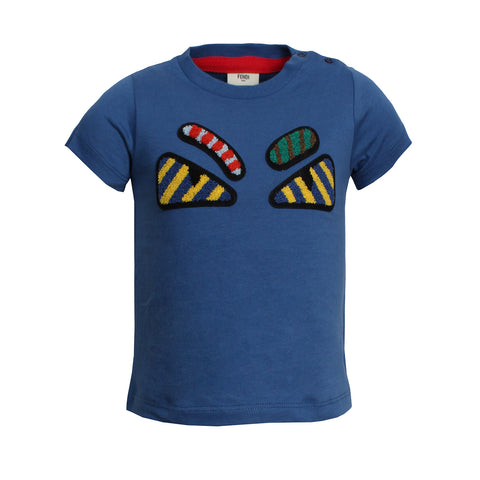 Boys Monster Eye T-Shirt(DK BLUE)