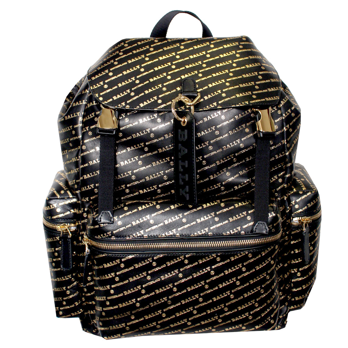 Men's Crew.OB/74 Backpack-Black and Gold
