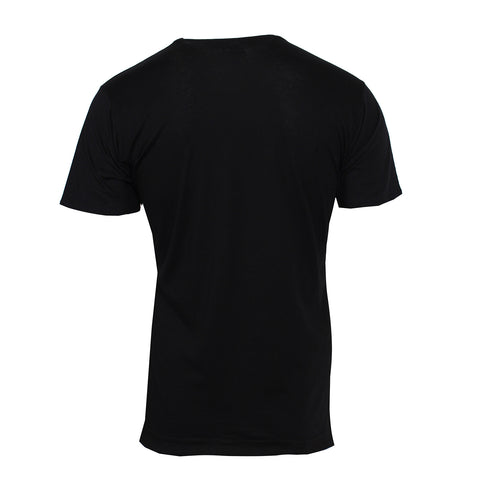Men's Gator Print T-Shirt- Black