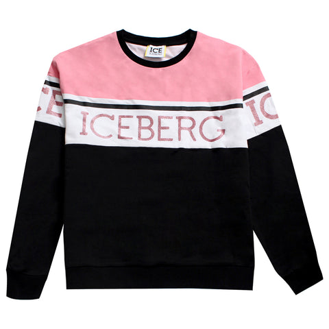 Iceberg | Girls Sweatshirt With Logo