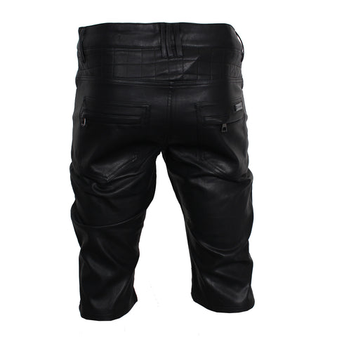 Mafia Shorts Leather (BLACK)