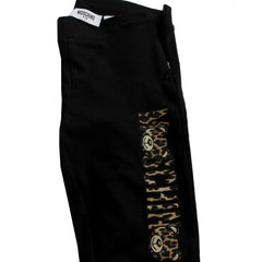 Moschino Kid | Girls Leggings Leopard Font