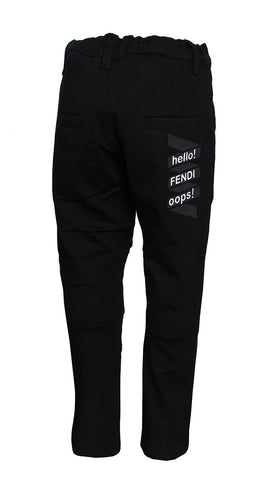 Boys Motorsycle Pant (BLACK)