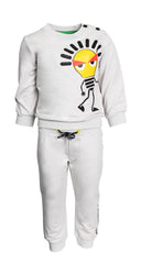 Baby Lightbulb Graphic Joggers (GREY)