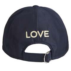 Boys Medusa Embroidered Cap-Navy