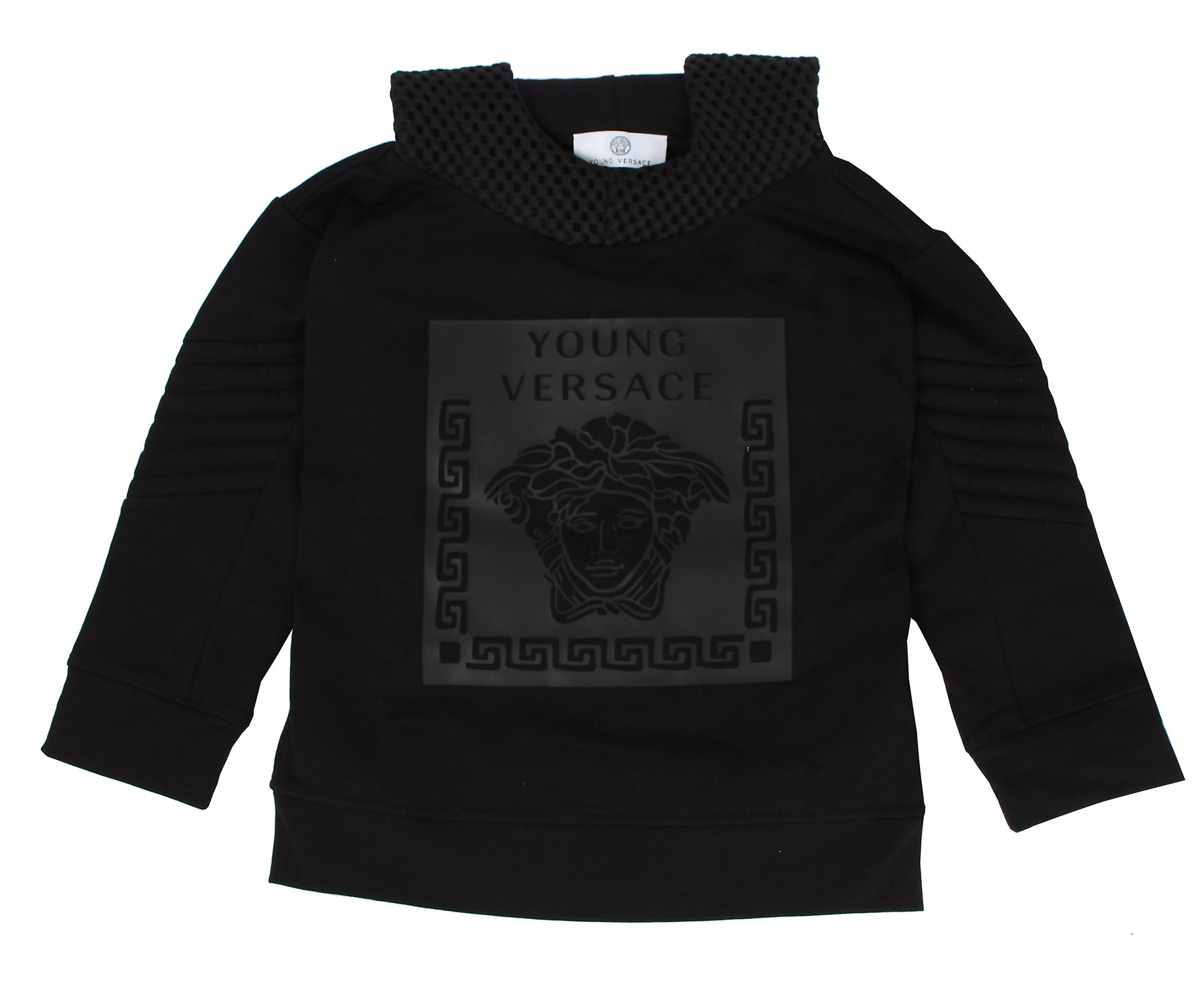 Young Versace BOYS SWEAT TOP W/ MEDUSA LOGO