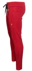 Men's Diamond Pants-Red