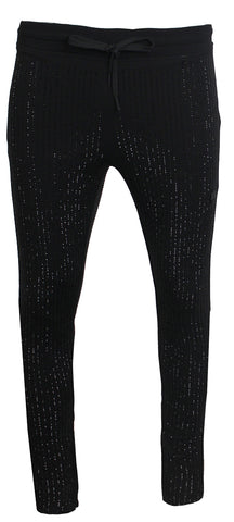 Men's Diamond Pants-Black