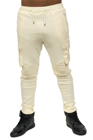 Jogging Cream Bottoms