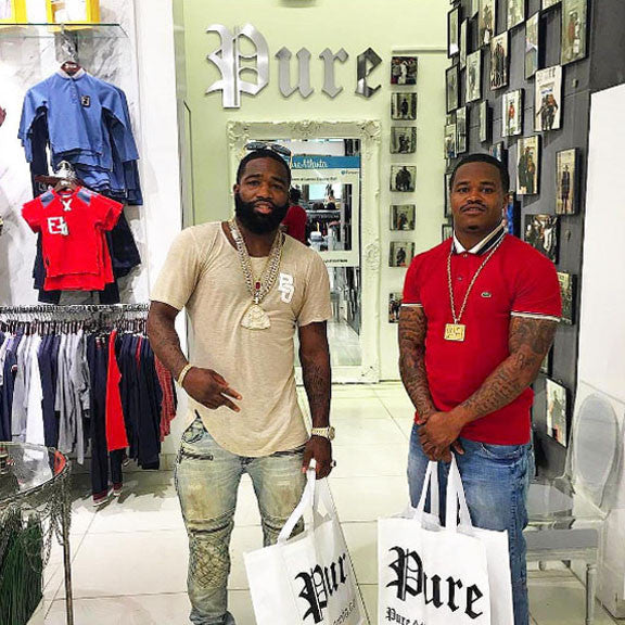See Celebrities Shopping at Pure!