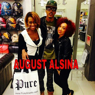 "August Alsina, ""I l*ve this sh*t"""