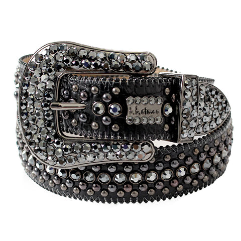 B.B Simon Belt-Black