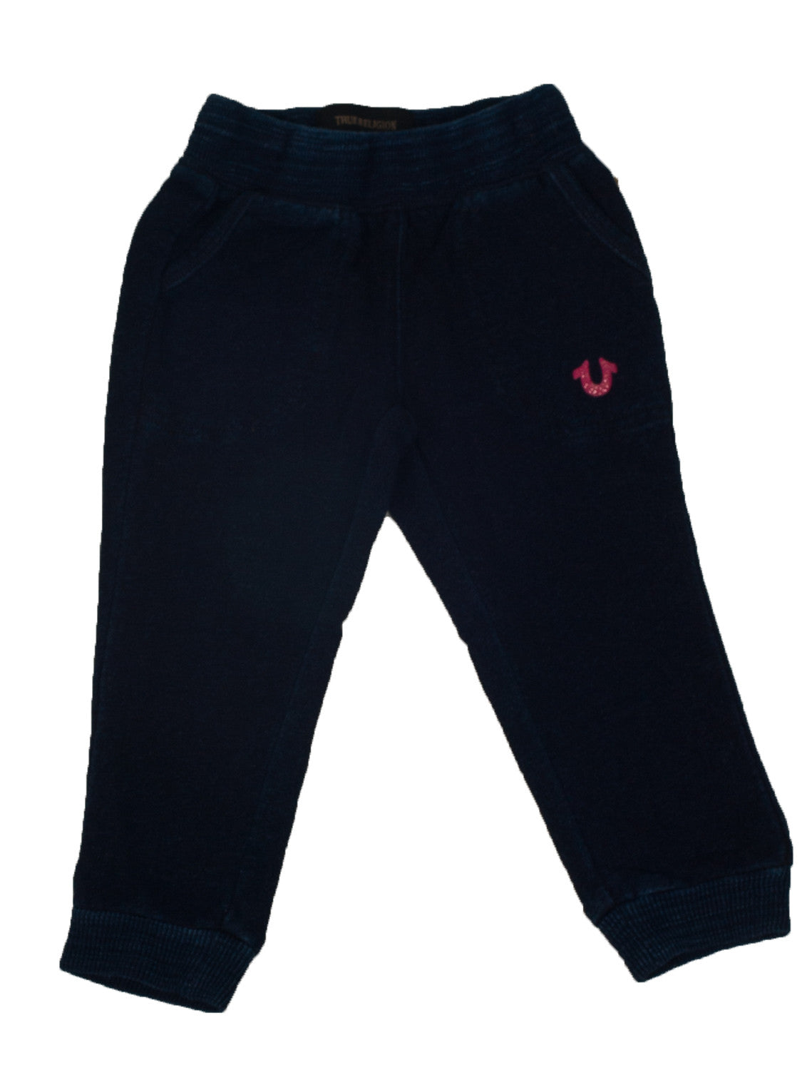 Girls Indigo Sweatpants