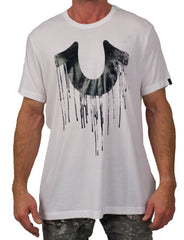 Drippy Horse Optic White Tee