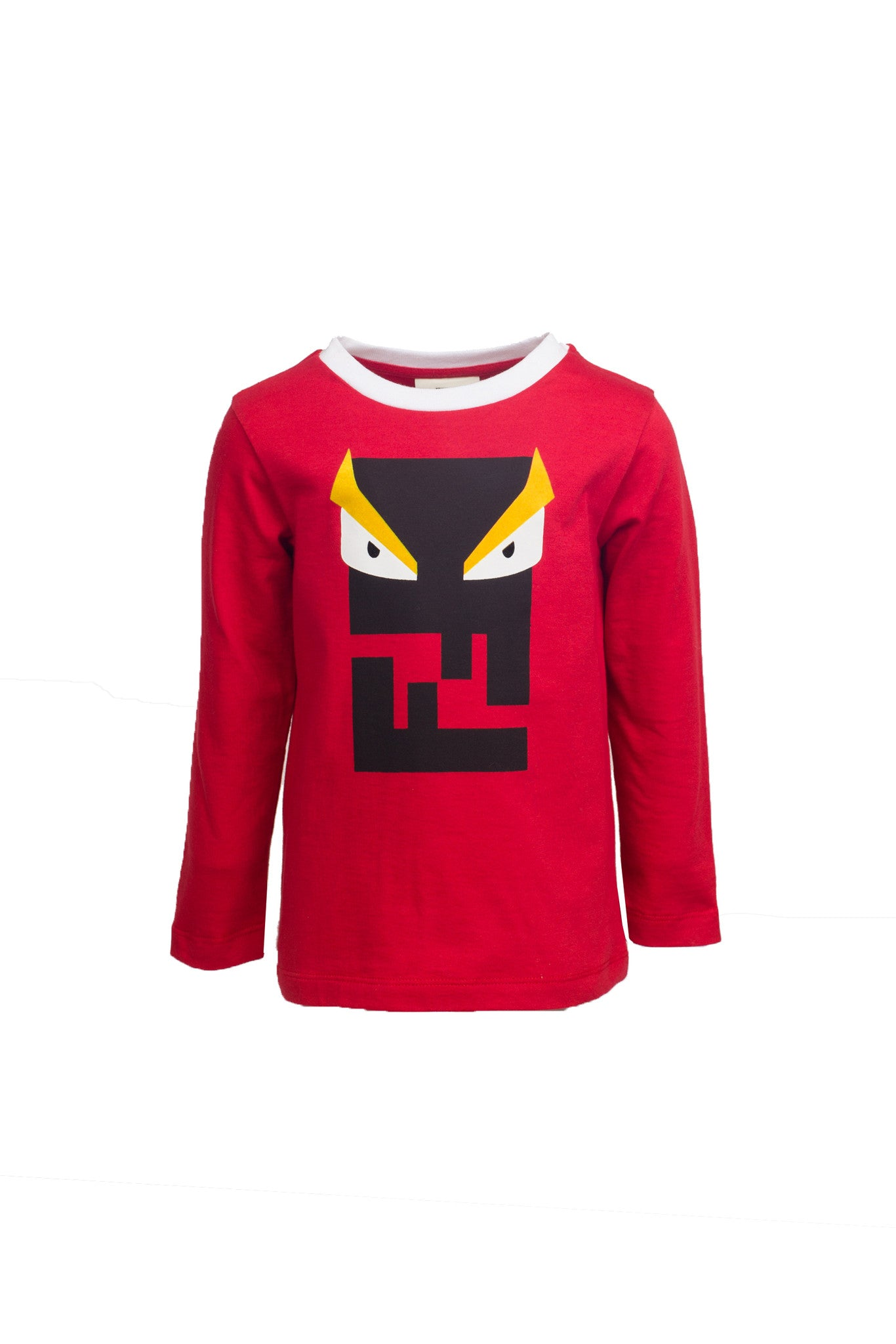Boys Red Long Sleeve Monster