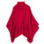 Fendi | Girls Turtle Neck Poncho | Fuchsia