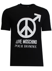 Love Moschino Pour Homme SS Tee Black