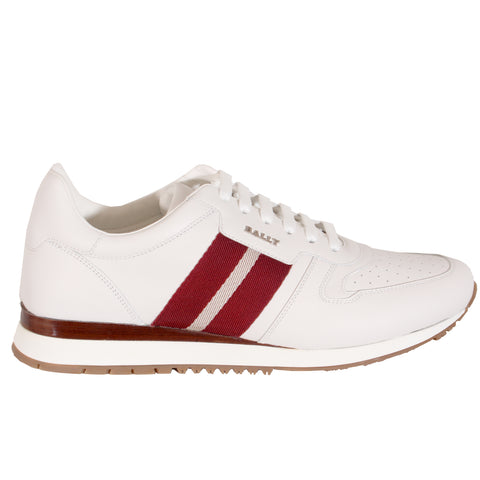 Men's Astel Leather Sneakers in White