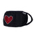 FASK Heart Cotton 2.0 Stoned Mask with Interchangeable Filter and Adjustable Size Strap