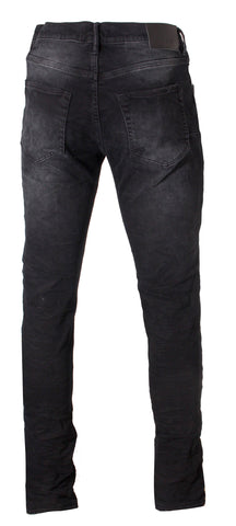 Men's P001 Slim Fit-Low rise with Slim Leg-Black Wash
