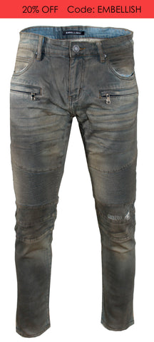 Men's Hilton Biker Denim
