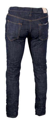 Men's P001 Slim Fit Low Rise with Slim Leg Raw Indigo