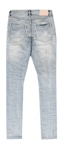 Men's Stretch Splatter Slim Jeans