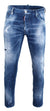 Medium Orange Country Wash Cool Guy Jeans