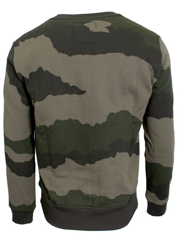 Men's Graphic 19 Core Sweater-Green