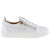 Men's Giuseppe Zanotti Birel Low Top Sneakers-White