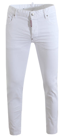 Men's Dsquared2 Skater Jeans-White