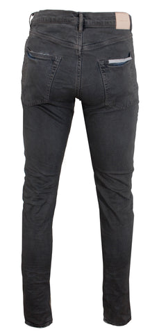 Men's P001 Dirty Wax Grey Denim