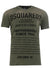 Men's Dsquared2 Distressed Olive Tee Shirt