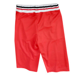 Girls Wide Leg Pants-Red