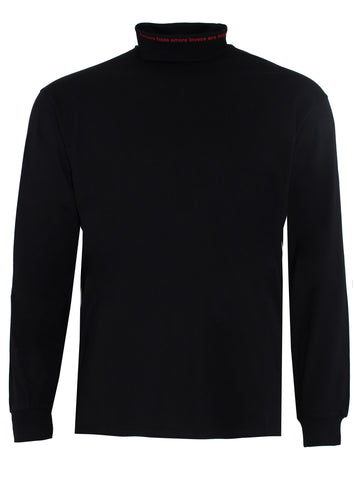 Men's MSGM Long Sleeve Turtle Neck Tee