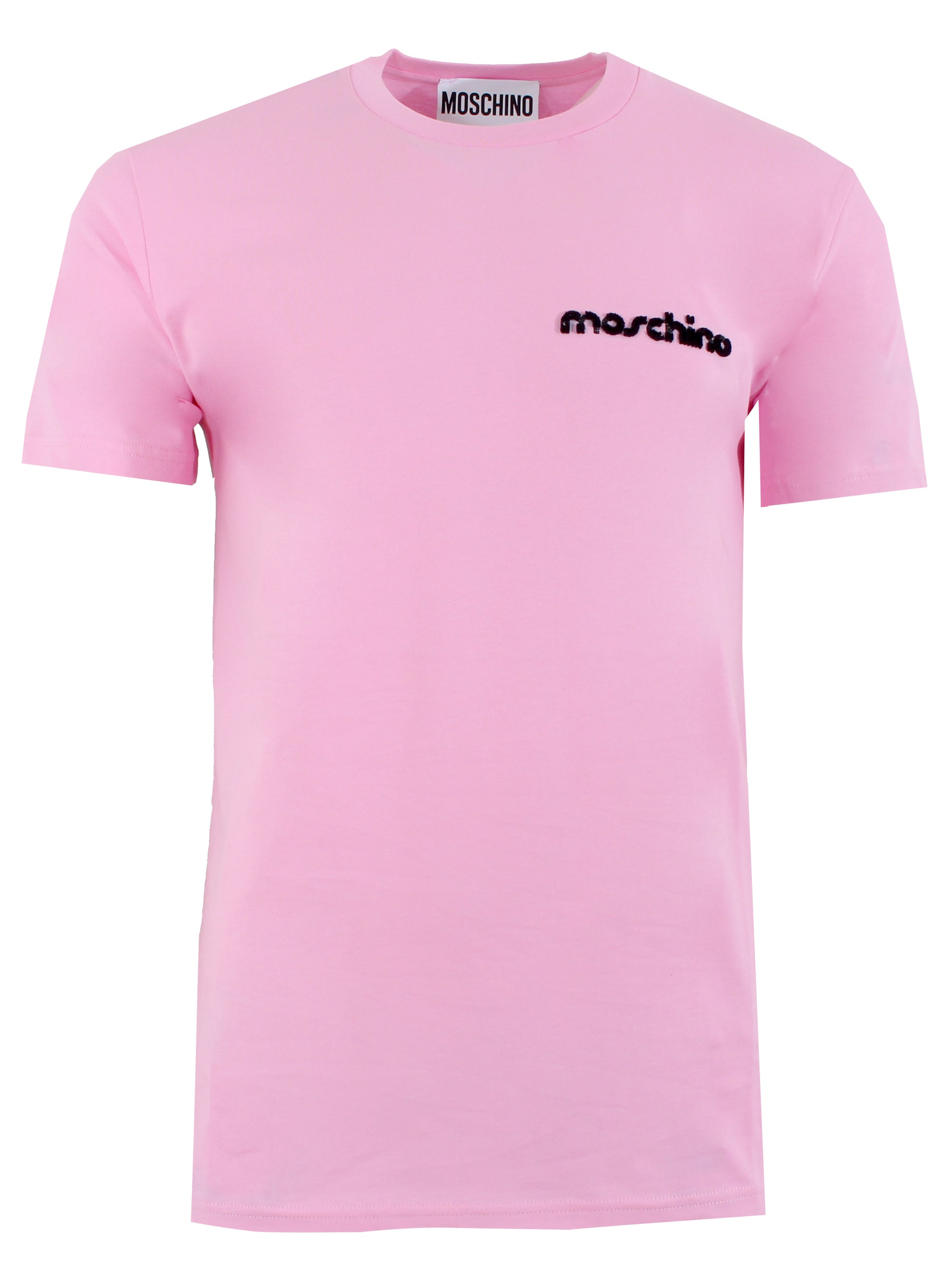 Moschino Logo Embroidered Short Sleeve Tee