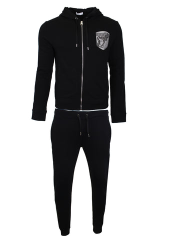 Men's Versace Collection Active Tracksuit-Black
