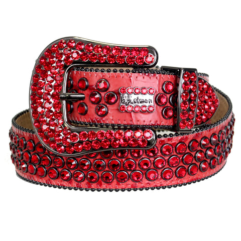 B.B Simon Belt-Red