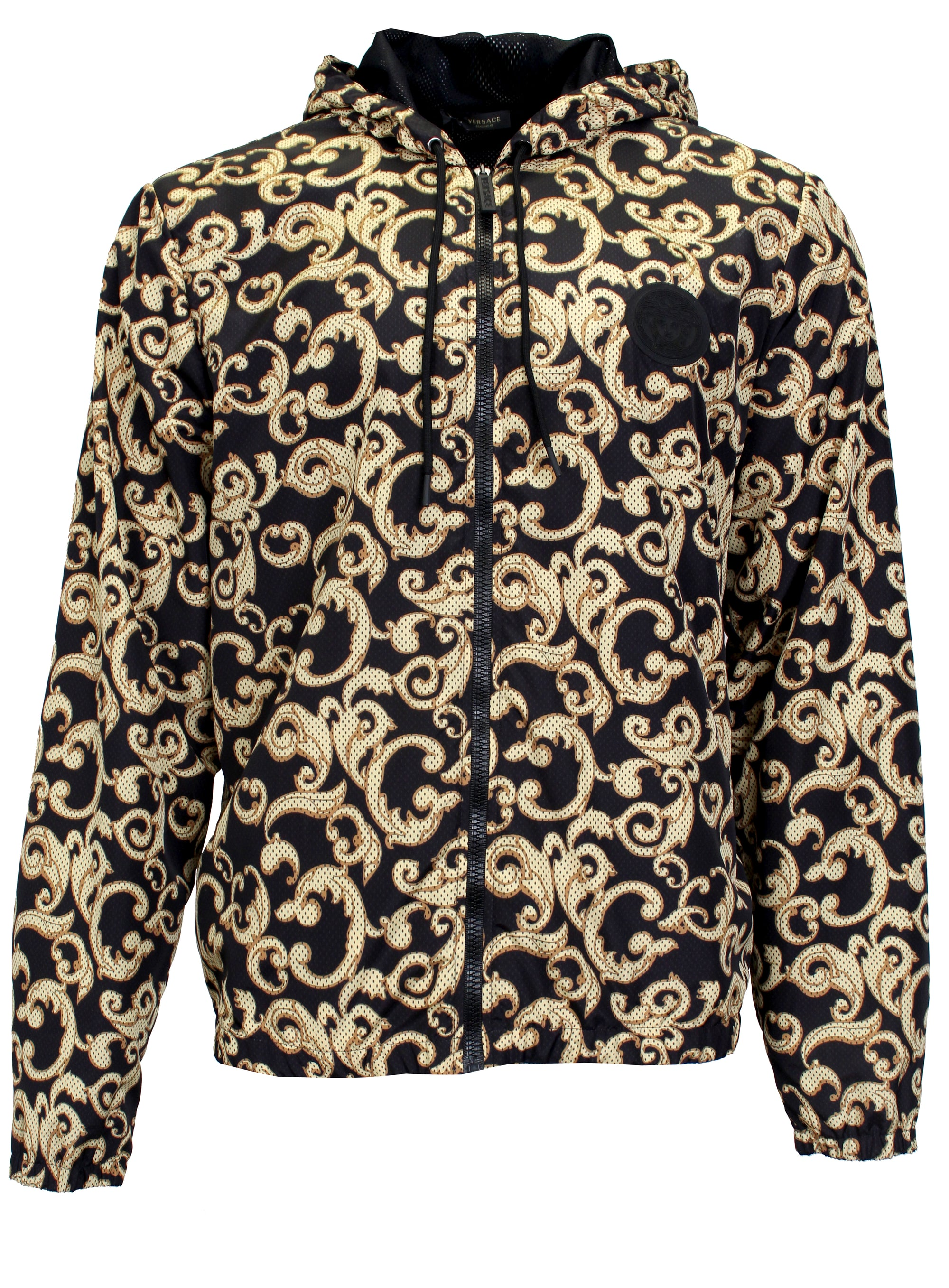 Beach Jacket-Black & Gold