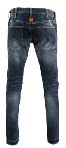 Men's 5620 3D Zip Knee Skinny Denim