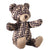 Toy Bear with Allover Logo Print