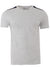 Men's Moschino Stretch Tee with Black Side Logo-Grey