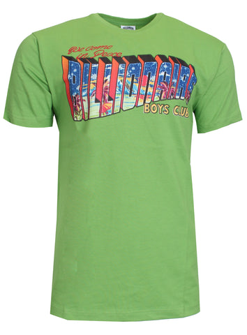 Men's Greetings Short Sleeve Tee-Foliage