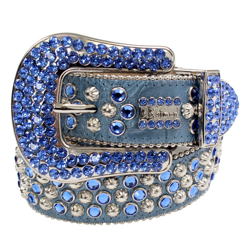 B.B Simon Belt-Light Blue