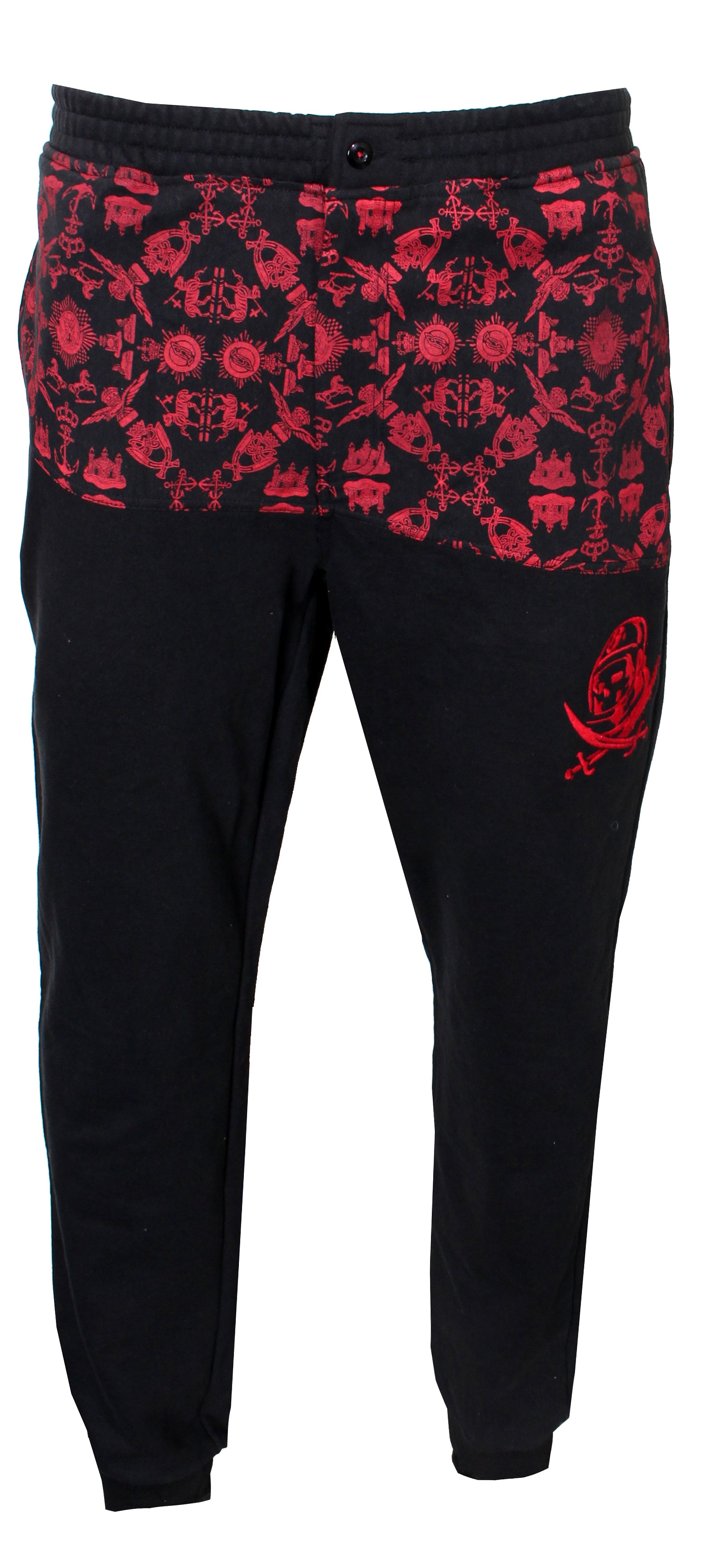Men's BB Fantail Sweatpants with Pirate Helmet Logo