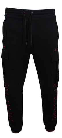 Men's Alex MCQ Joggers-Black