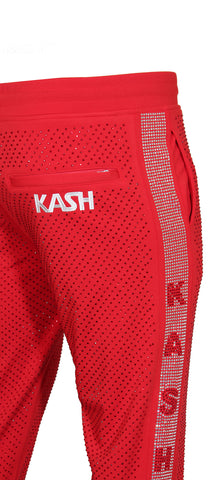 Kash Diamond Pants-Red